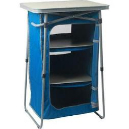 Ozark Trail 3-Shelf Portable Compact Collapsible Outdoor Cab