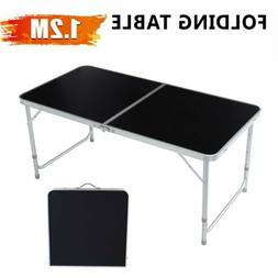 4FT Folding Table Aluminium Alloy Indoor Outdoor Picnic Part