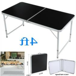 4ft folding table indoor outdoor bbq portable