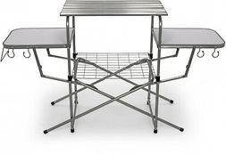 57293 deluxe grilling table