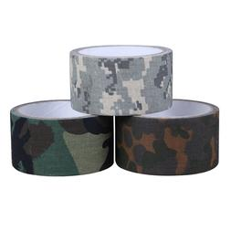 5CMx5M Camo ACU Wrap Outdoor Forest Hunting Camping Tape Wat