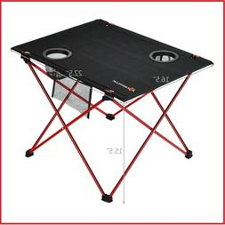Aluminum Camping Folding Table Portable Office Camping Picni