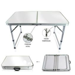 aluminum folding table 4 portable indoor outdoor