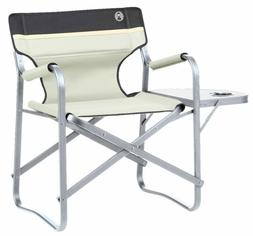 Coleman Camping Chair Deck Chair With Table Khaki Folding Ch