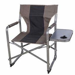 CAMPMOON Folding Camping Chairs for Adults with Side Table,