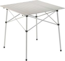 Coleman Camping Table | Compact Roll Top Aluminum Table