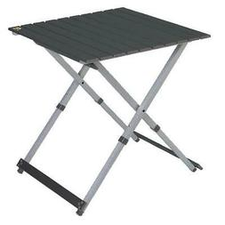 Compact Camp Table Foldable W/ Telescoping Legs Outdoor Picn