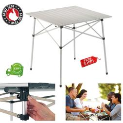 compact picnic table camping portable roll top