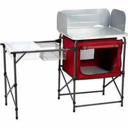 Durable Camping Table with Easy to Clean Tabletop Washing Si