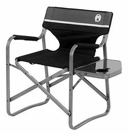 Coleman Flip Up Side Table Chair Aluminum Outdoor Camping Tr