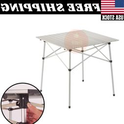Coleman Folding Camping Table Ultra Compact Outdoor Steel Fr