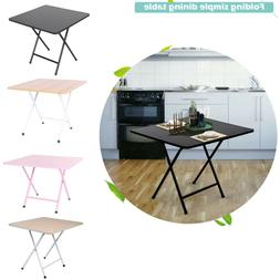 Folding Dining Table Portable Square Home Kitchen Furniture