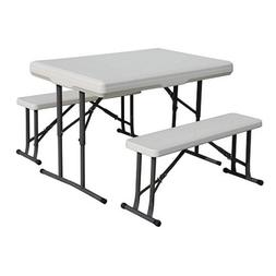 Folding Picnic Table Tailgating Campsite Tables Portable Out