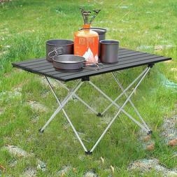 Folding Tables Portable Picnic Camping Side Top Carry Bag Hi