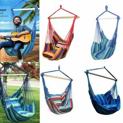 Garden Hammock Hanging Rope Chair Swing Seat Outdoor Patio C