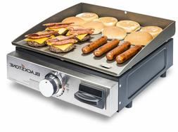 Portable Propane GrIl Gas Griddle Table Top 17In For Outdoor