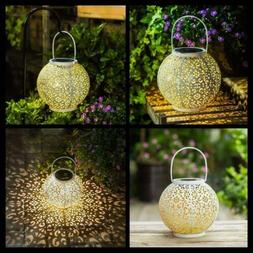 Hanging Solar Lantern Garden Outdoor Lights Waterproof LED T