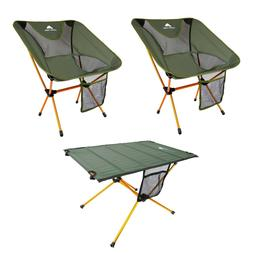 Ozark Trail Himont Camp Lite Chair and Table Set Sea Turtle