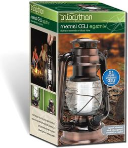 Indoor Outdoor Led Rustic Table Lantern Lamp Solar Or Batter