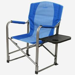 Kamp-Rite Director's Chair Camping Folding Chair with Side T