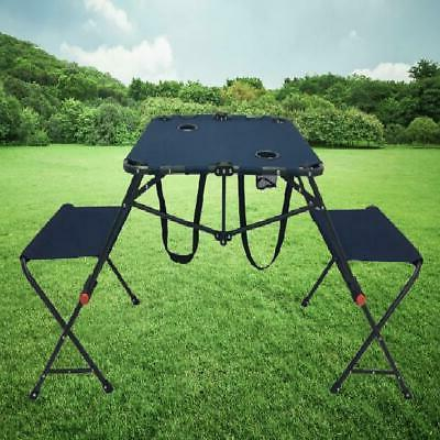 Ozark Trail Camping Chair&Table Set Two