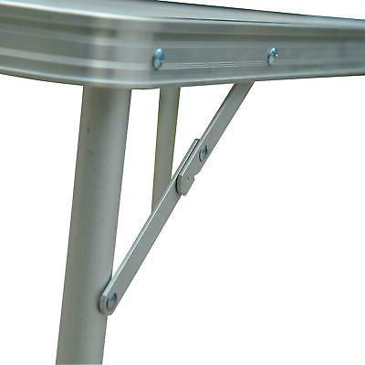 3FT Folding Potable Camping Table Dining Aluminum