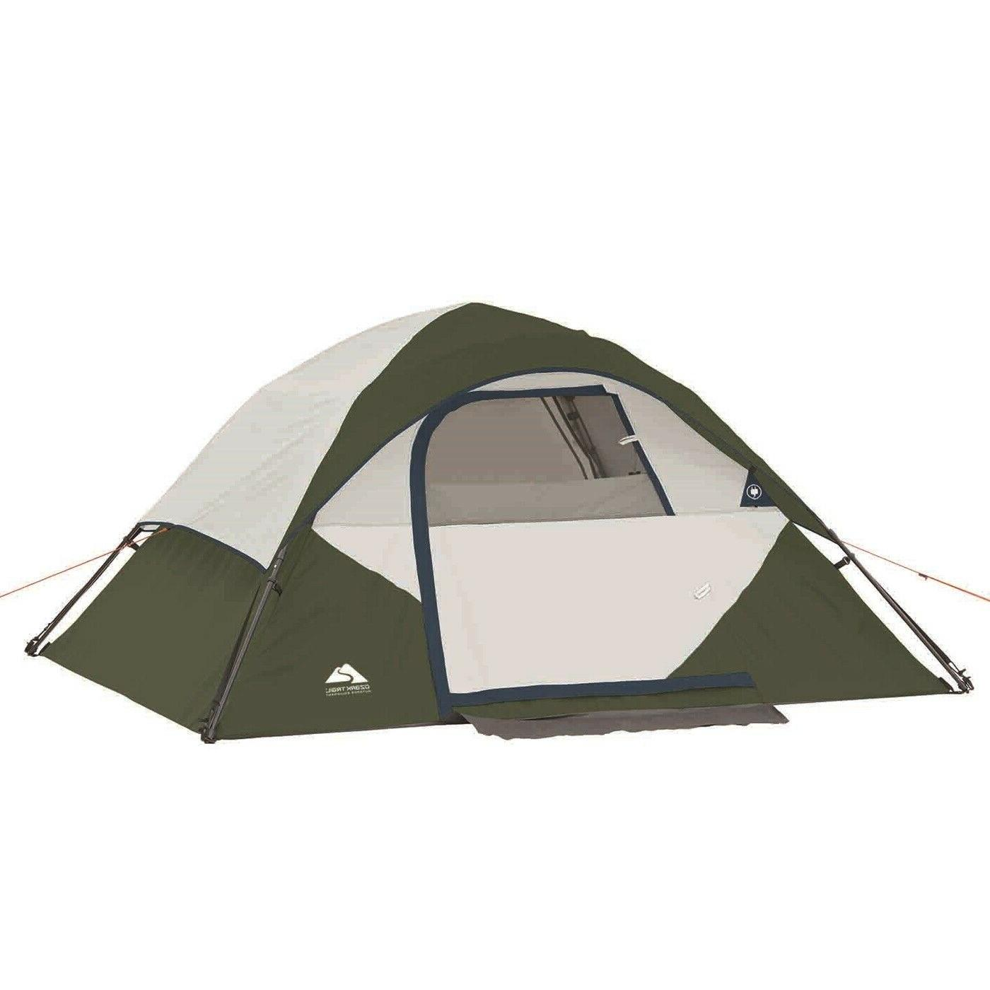 6 PIECE Ozark Combo - Tent Sleeping Bags Chairs Travel Table