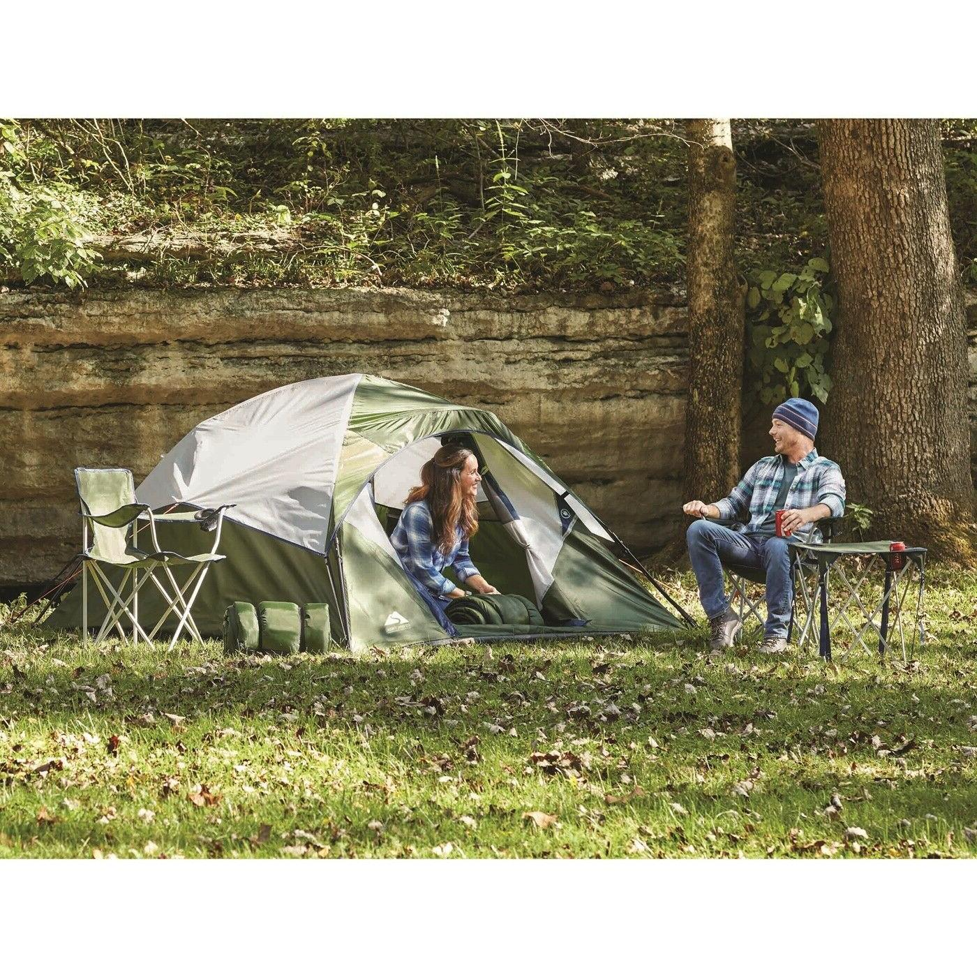 Combo Tent Sleeping Bags Chairs Travel