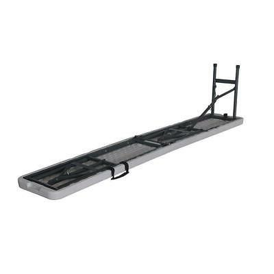 6'Portable Bench Plastic In/Outdoor Dining Table Camping