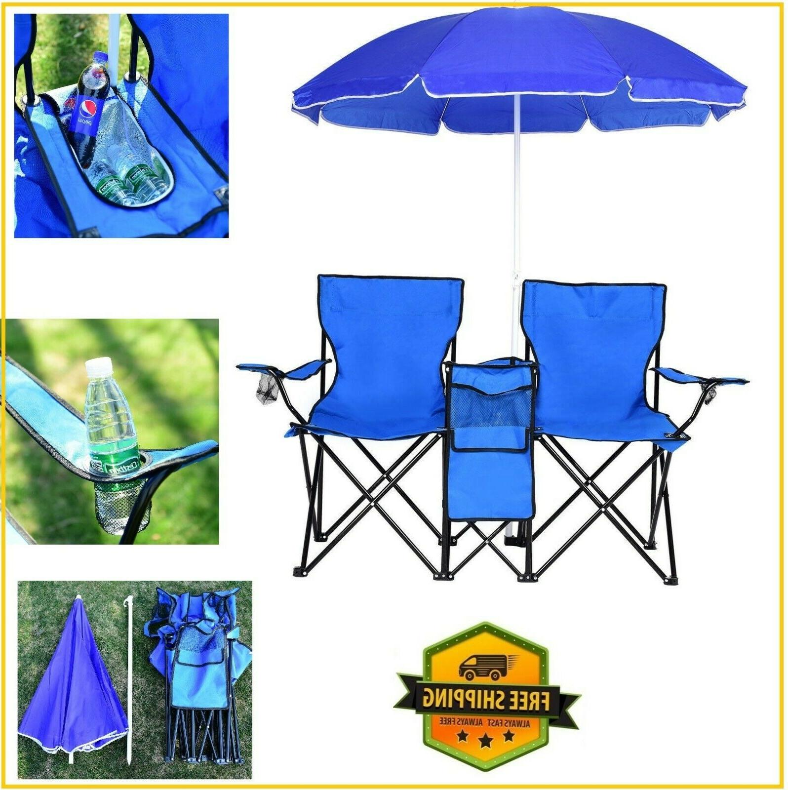 camping chairs folding picnic portable chair set