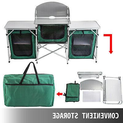 Camping Table Folding Storage