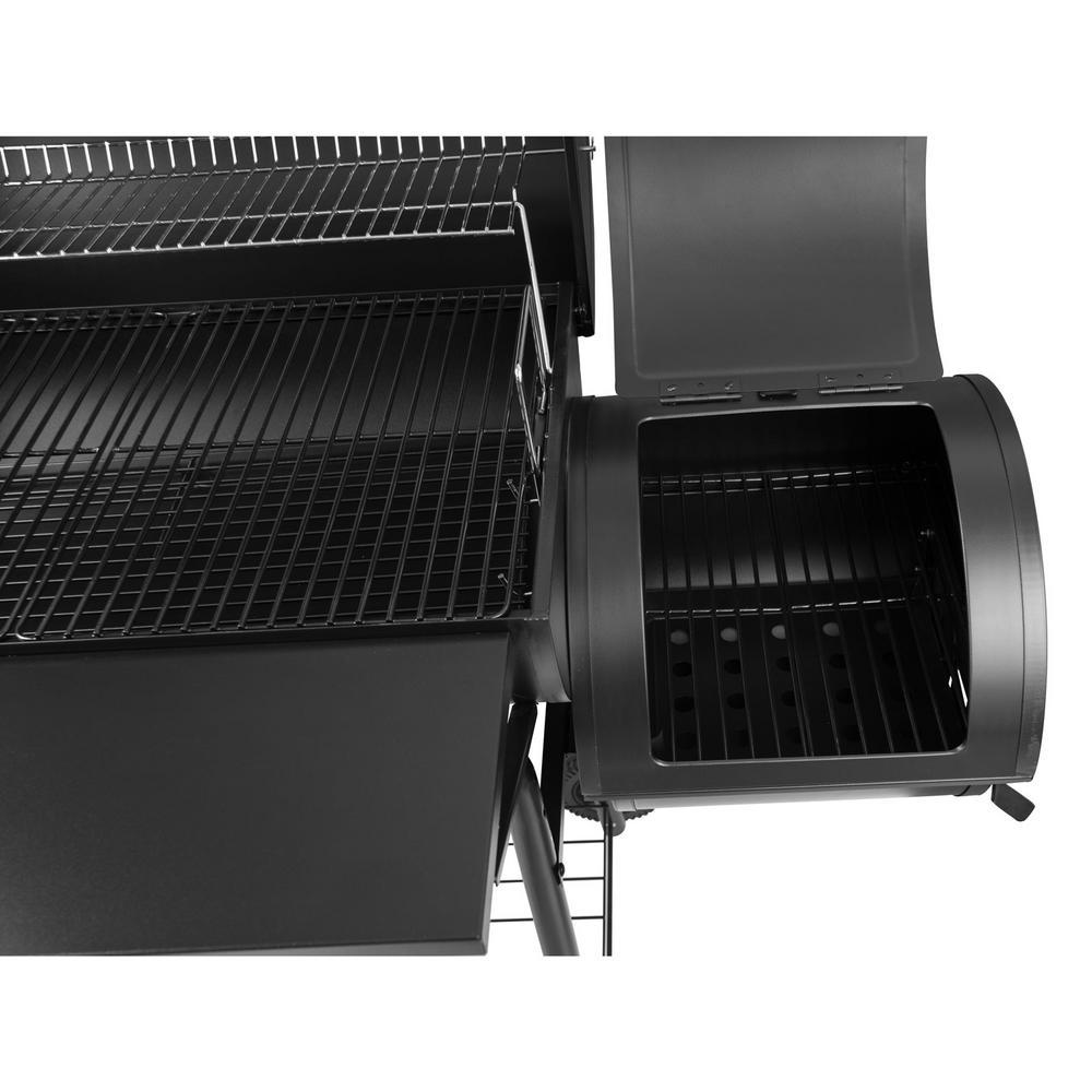 Charcoal Grill Smoker With Side CC1803S Portable Camping