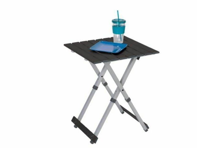 GCI Table Silver Aluminum Frame To 2
