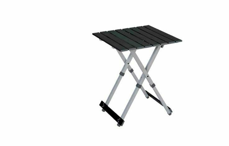 compact camp table 20 silver aluminum frame
