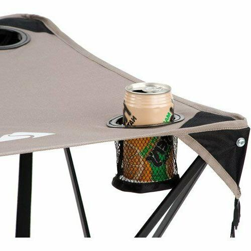 Ozark Outdoor Quad Folding Table With