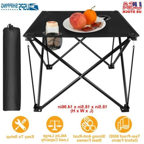 foldable camping table picnic table lightweight portable
