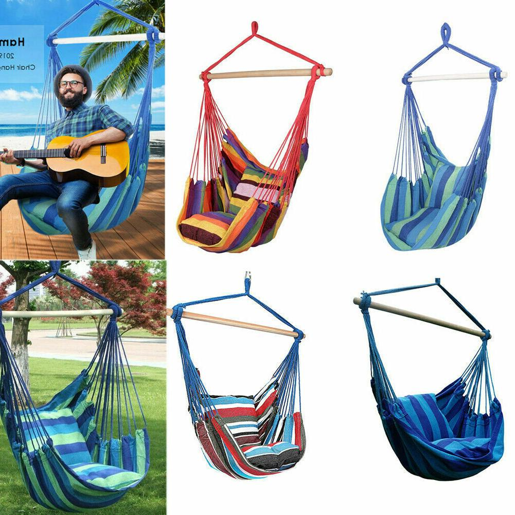 garden hammock hanging rope chair swing seat