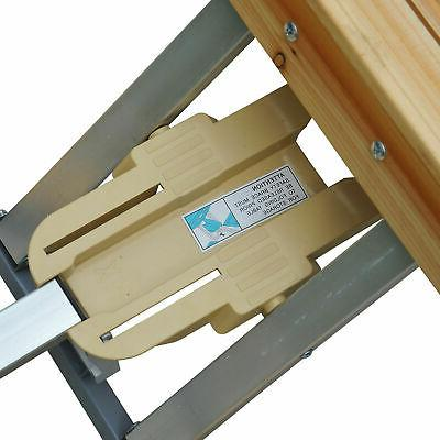 Wooden Camping Picnic Table Bench Seat Outdoor Folding