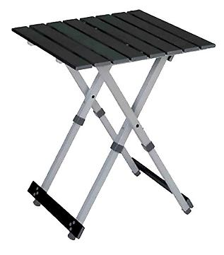 outdoor compact camping table aluminum lightweight foldable
