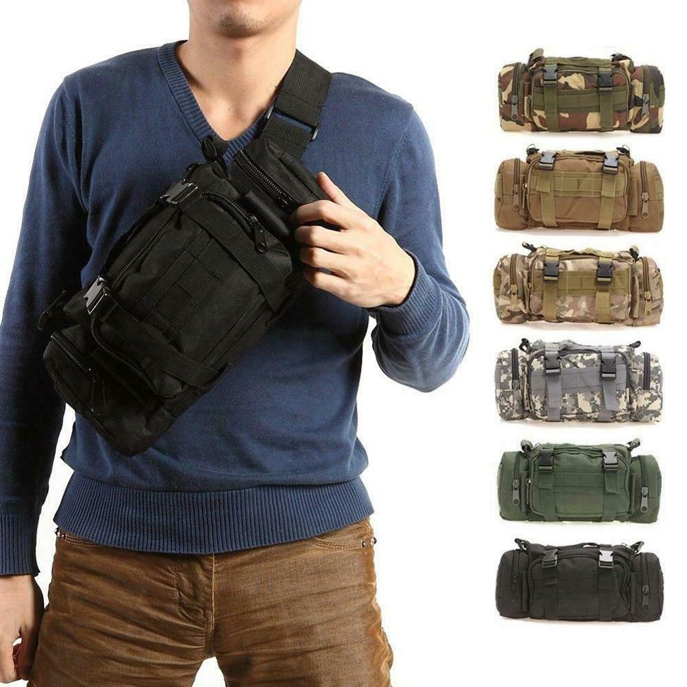 outdoor military tactical waist pack molle camping