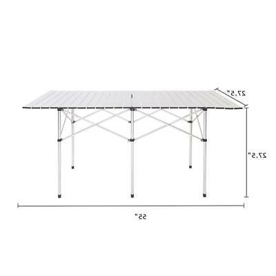 portable camping table folding table aluminum table