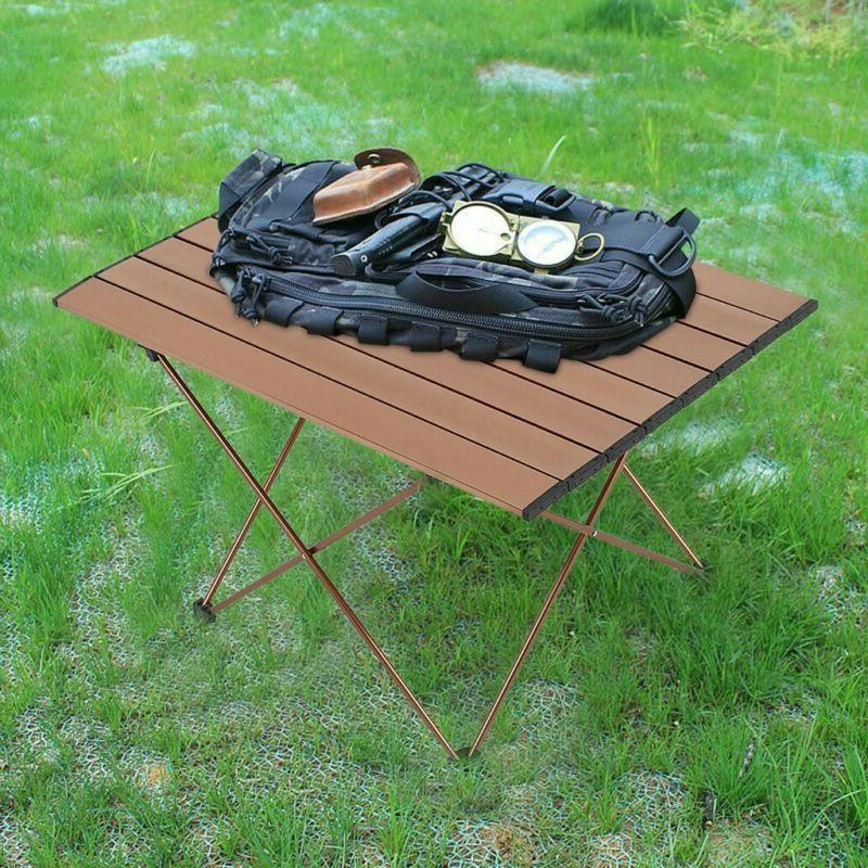 portable camping table small ultralight folding table