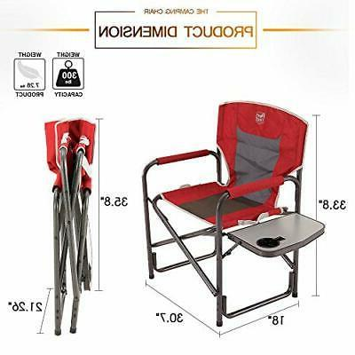 Portable Table Red