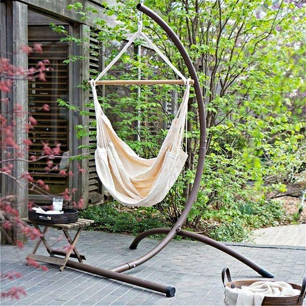Portable Camping Hanging Hammock Outdoor Garden Bed Rope