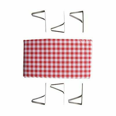 red white checked tablecloth 54 x 72