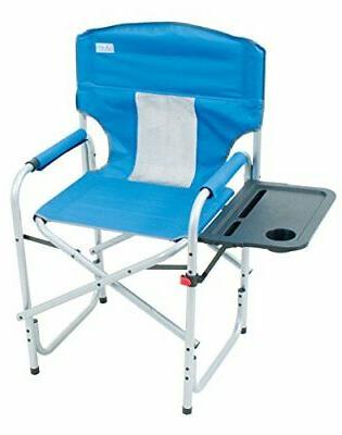 outdoor director s folding chair with side