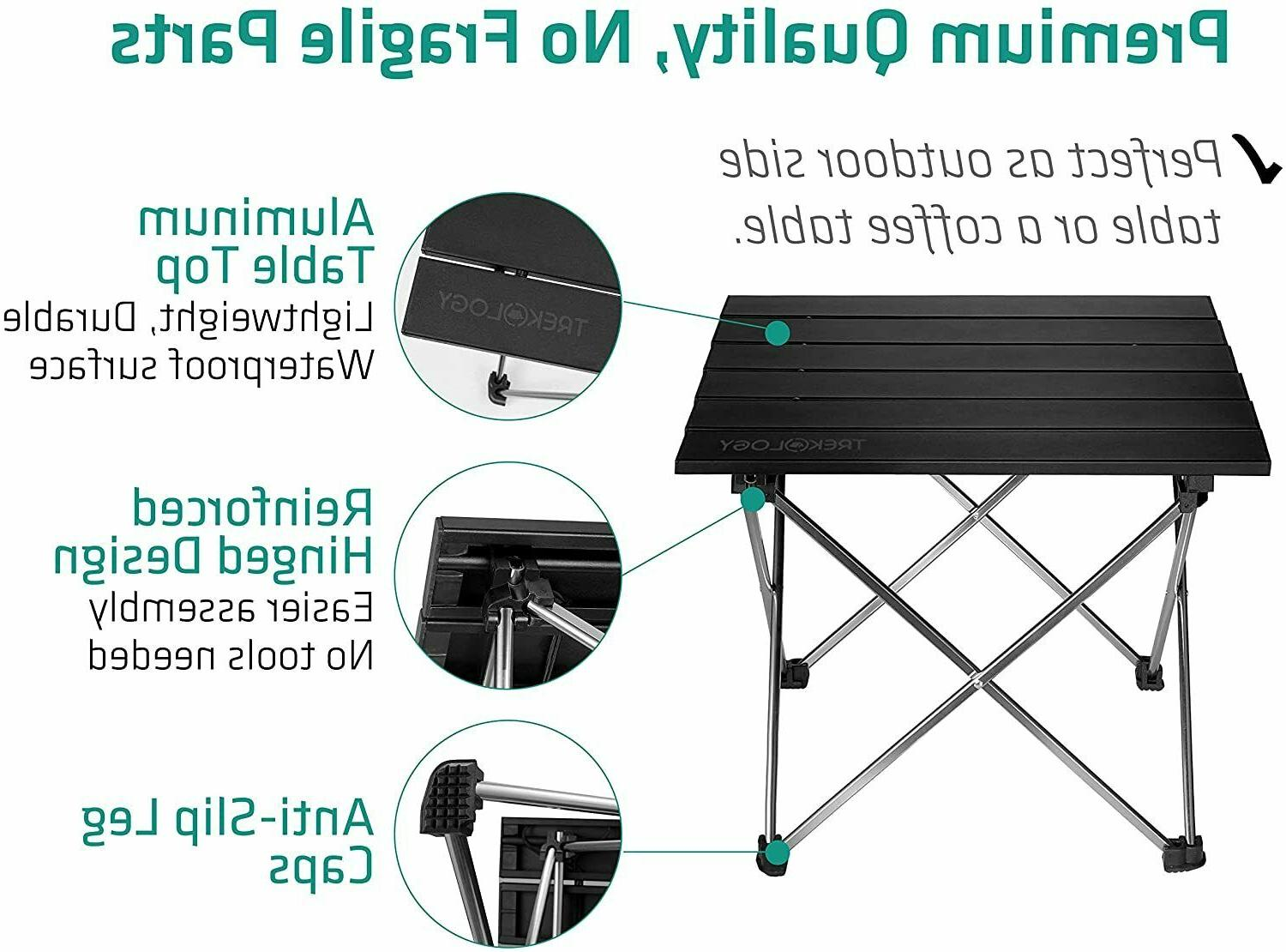 Small Portable Table-Collapsible Picnic