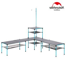 Outdoor Free Splicing Folding Table Portable Ultralight Chan
