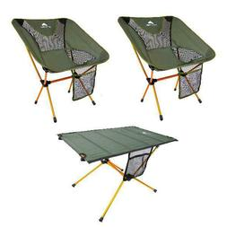 Ozark Trail Himont Camp Lite Chair and Table Set