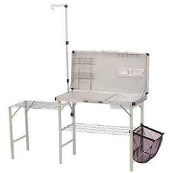 Coleman Pack-Away Deluxe Portable Kitchen Table Counter Outd